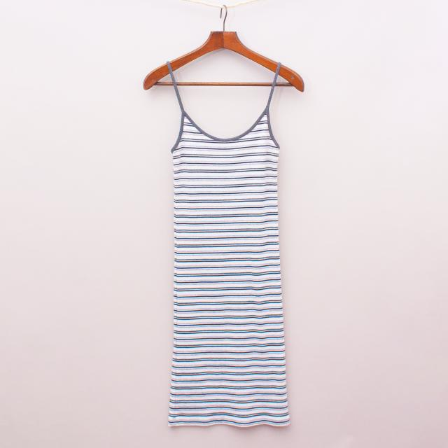 "Brandy Melville Basic Striped Dress ""Brand New"""