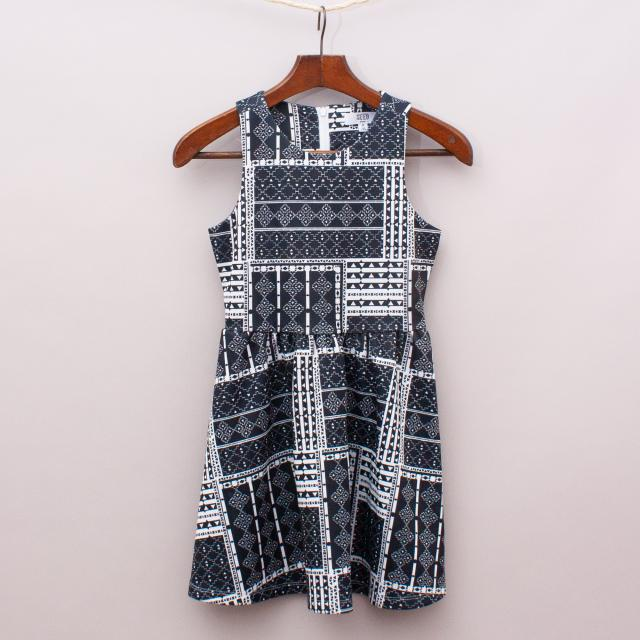 Seed Patterned Dress