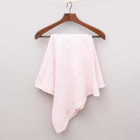 The Pink Hw Woven Blanket - Size 90 cm x 85cm