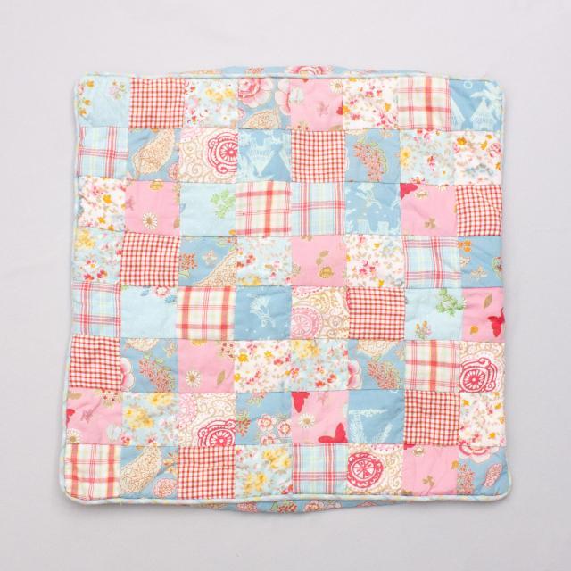 Room Seven Pastel Patchwork Pillowcase - Size 40cm x 40cm
