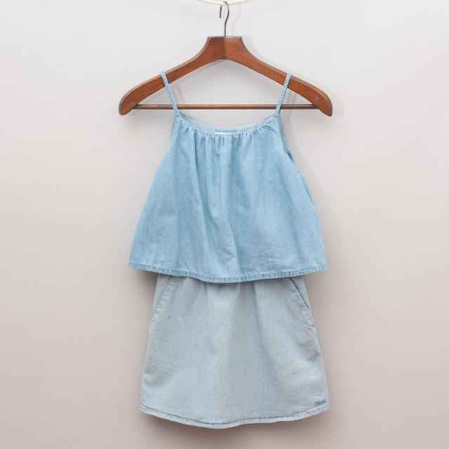 Chloe Chambray Dress
