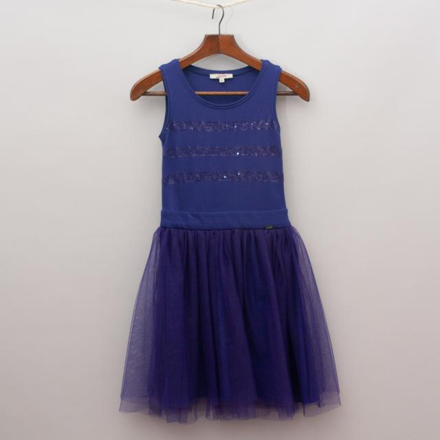 Junior Gaultier Tulle & Sequin Dress