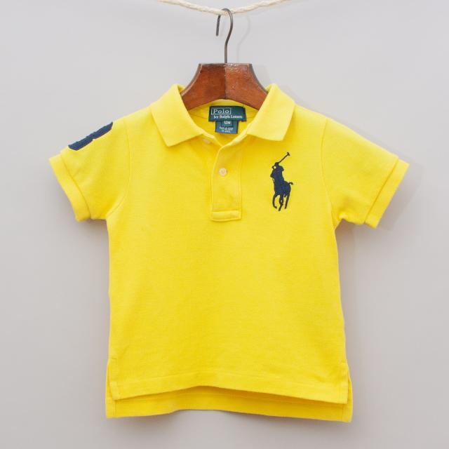 Ralph Lauren Yellow Polo Shirt