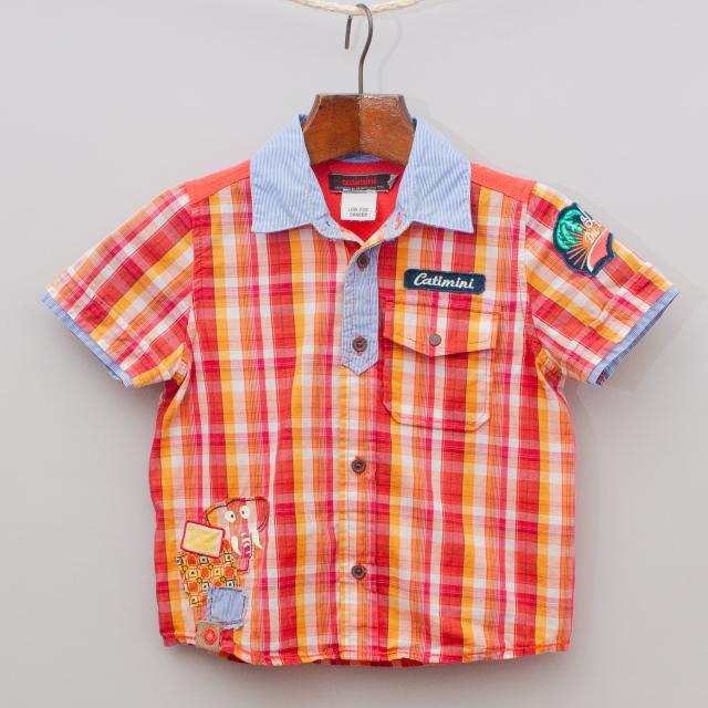 Catimini Plaid Shirt