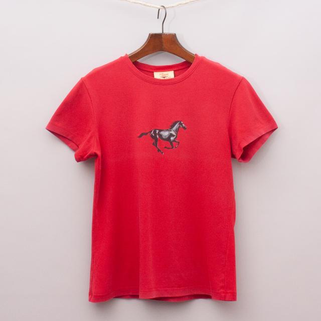 R.M. Williams Horse T-Shirt