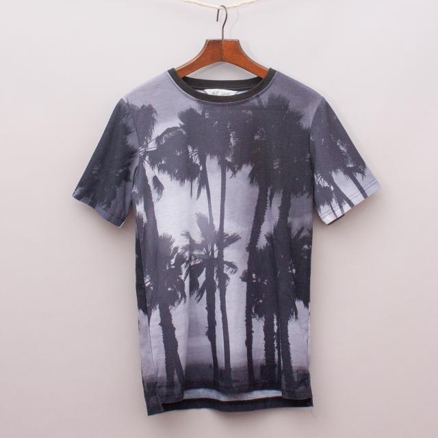 H&M Palm Tree T-Shirt