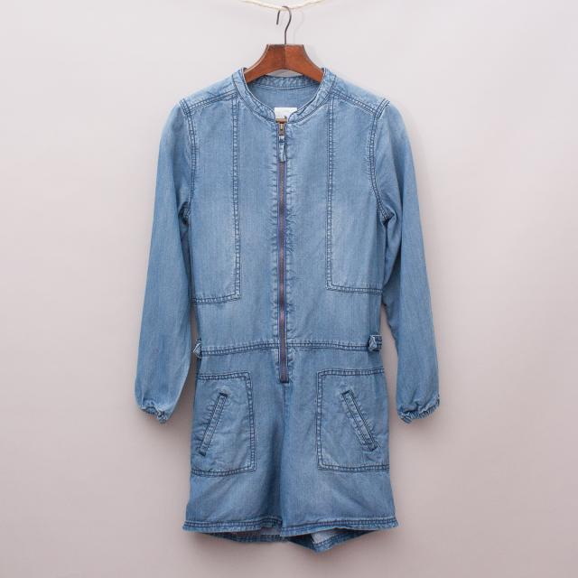 Country Road Chambray Playsuit