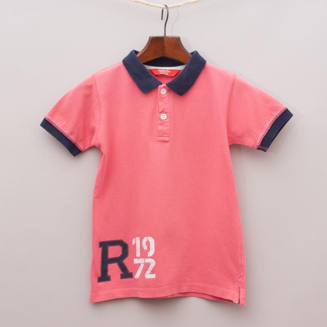 Rhubarb Short Sleeve Polo Shirt