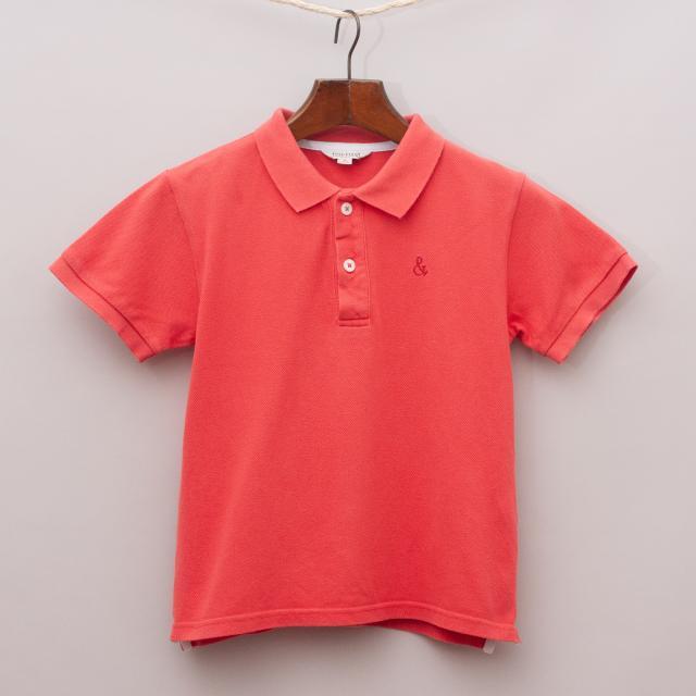 Fox & Finch Red Polo Shirt