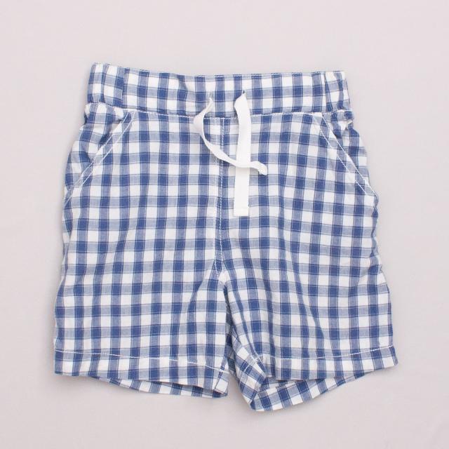 Purebaby Gingham Shorts