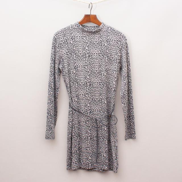 Witchery Leopard Print Dress
