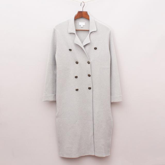 Witchery Grey Soft Coat
