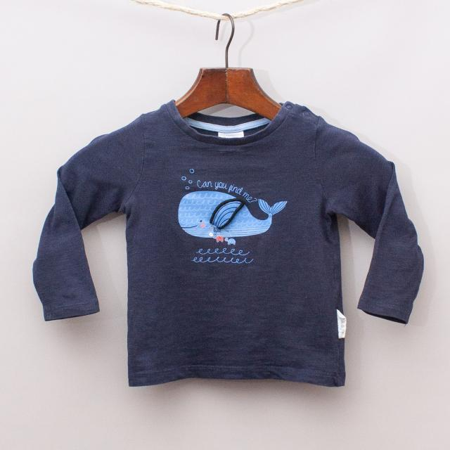 Sprout Whale Long Sleeve