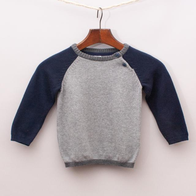 H&M Two-Tone Jumper