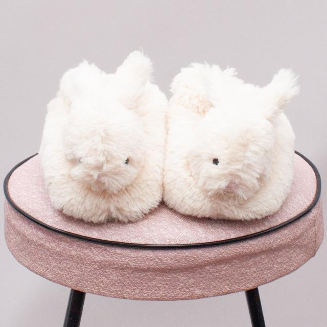 Peter Alexander Bunny Slippers - (Age 1-2 approx.)