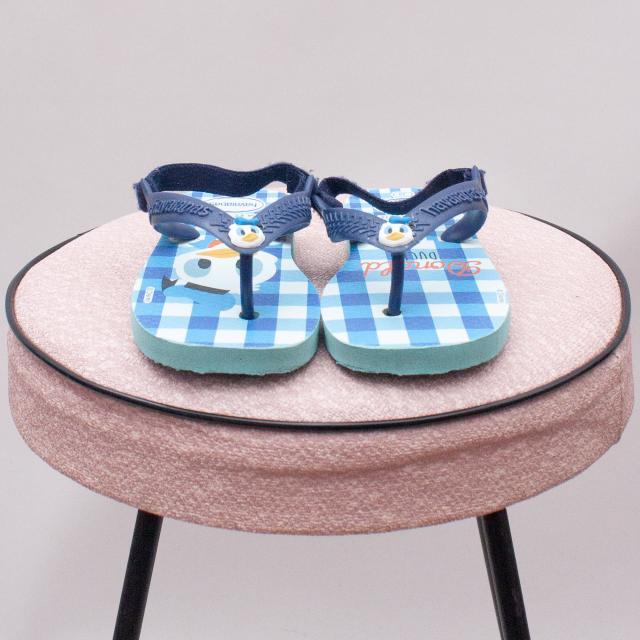 Havaianas Donald Duck Sandals - EU 22 (0-12Mths approx.)