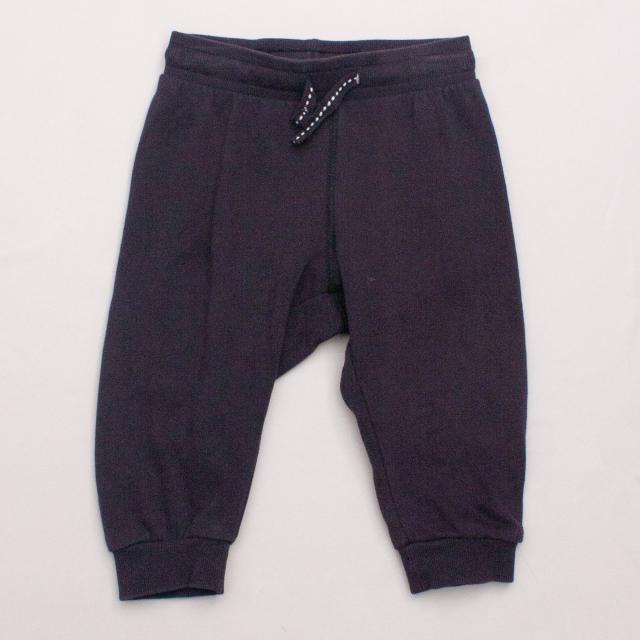 H&M Navy Blue Trackpants