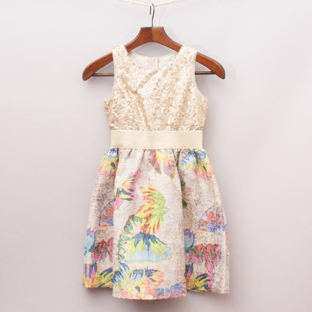 Blush Embellished Dress