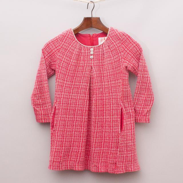 Miss Leona Cross-Stitch Dress
