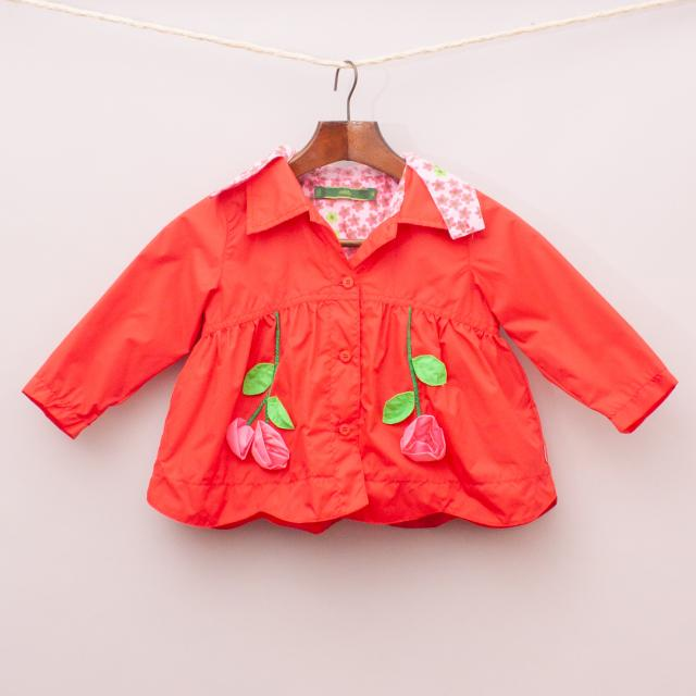 Oilily Red Flower Jacket
