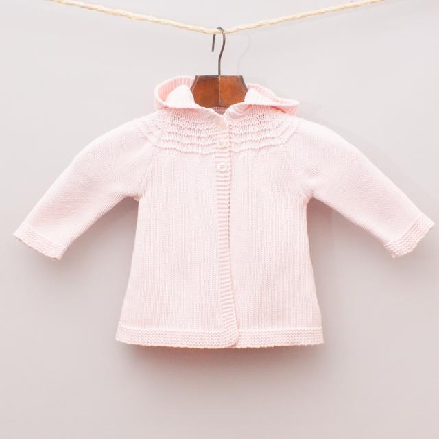 Purebaby Hooded Cardigan
