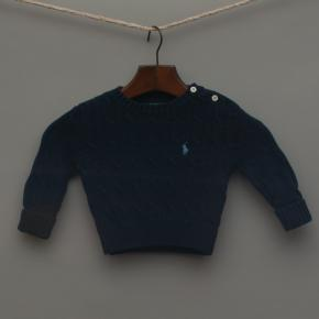 Navy Blue Knitted Jumper