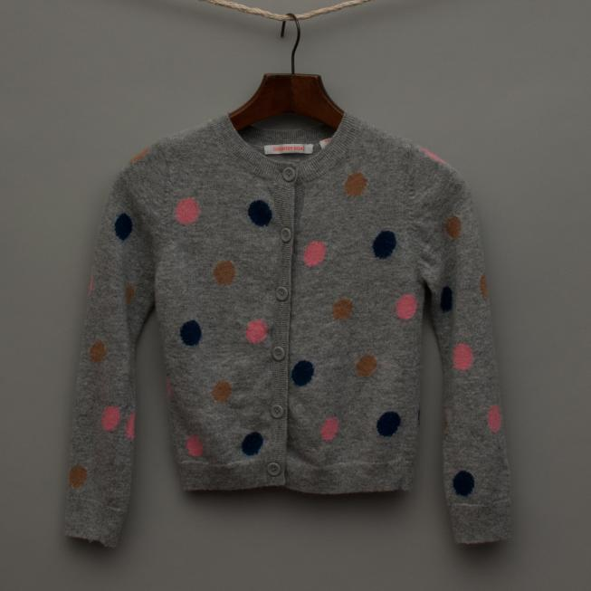Grey Spotted Cardigan