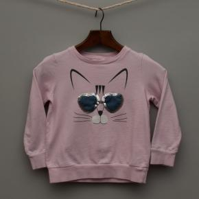 Pink Cat Jumper