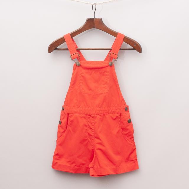 BonTon Red Overalls