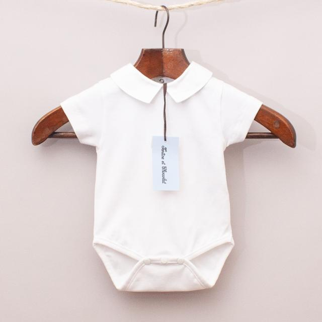 "Tartine et Chocolat White Romper ""Brand New"""