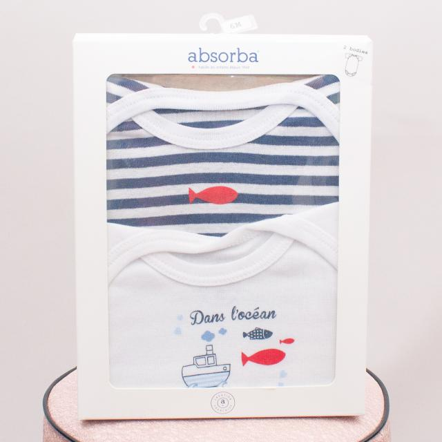"Absorba Nautical Romper Set ""Brand New"""