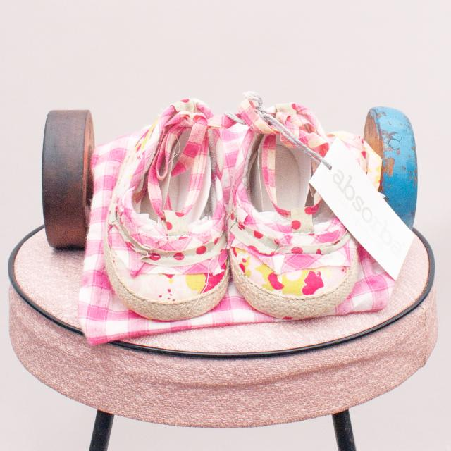 Absorba Patterned Shoes - Size 0