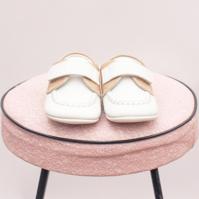 TNY Leather Baby Shoes - EU 19 (0-12Mths Approx.)