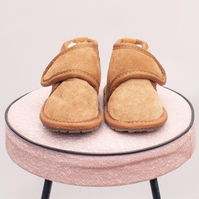 Emu Velcro Ugg Boots - 0-12Mths