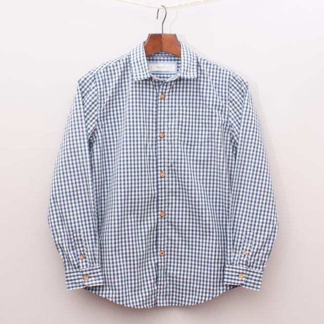 Mango Gingham Shirt