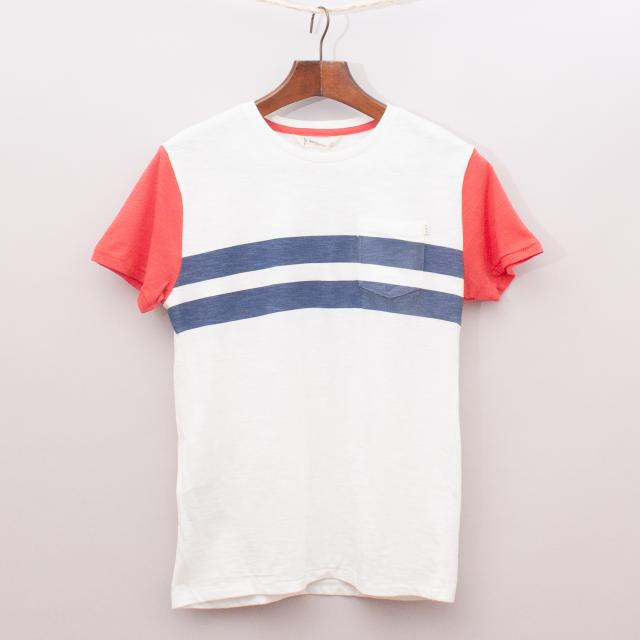 "Mango Stripe T-Shirt ""Brand New"""