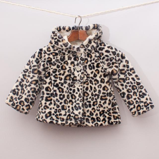 Crazy8 Leopard Coat