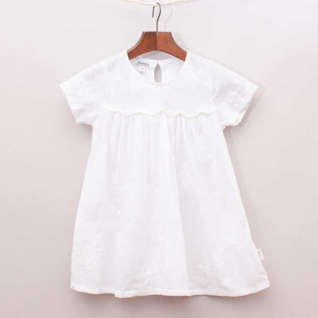 Dandelion Sheer Cotton Dress
