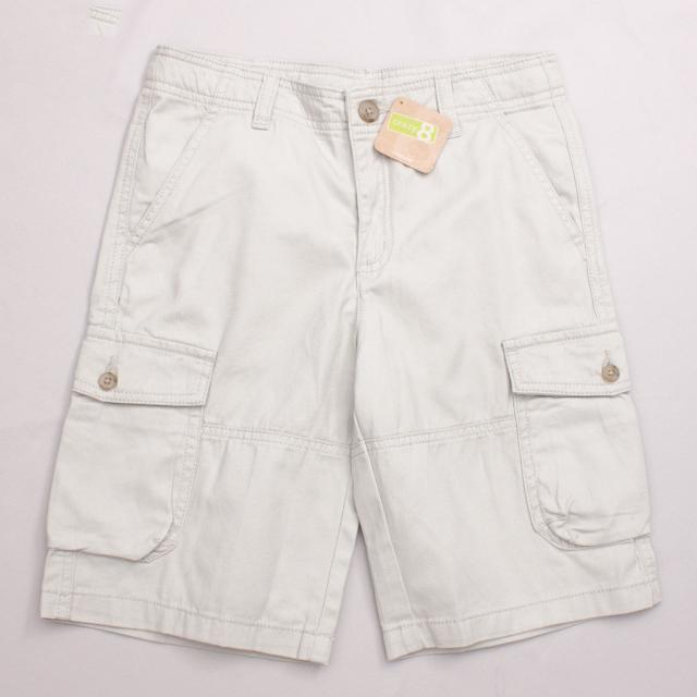"Crazy8 Beige Cargo Shorts ""Brand New"""