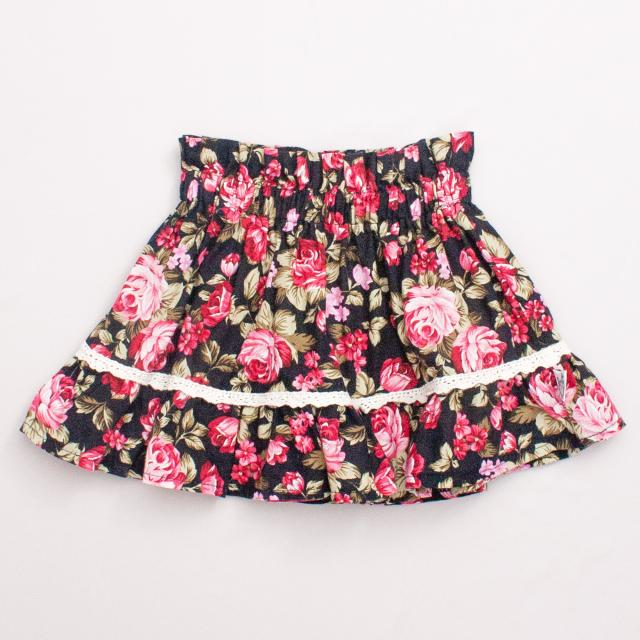 Couture Kids Floral Skirt