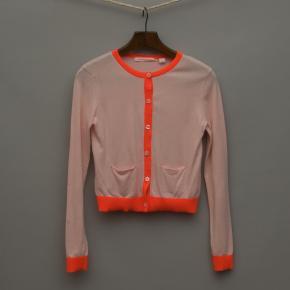 Light Pink and Orange Cardigan