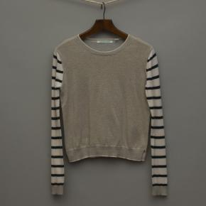 Soft Gold and Stripe Jumper