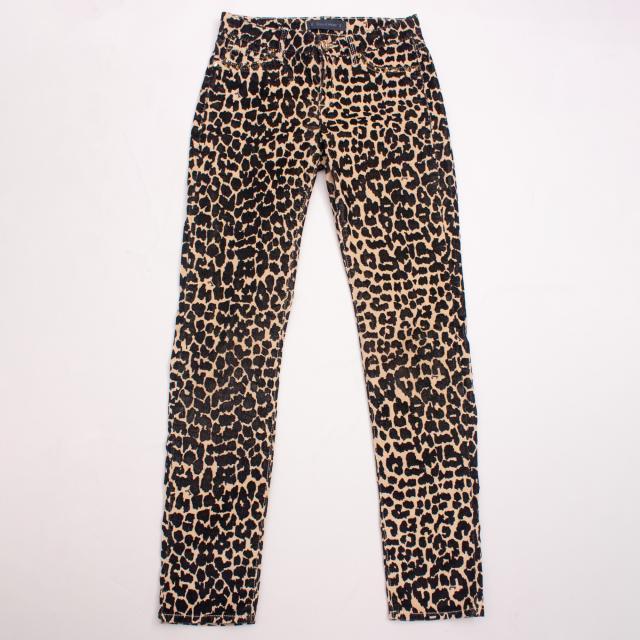 Juicy Couture Leopard Jeans