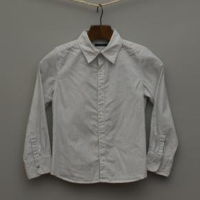 White Pin Stripe Shirt