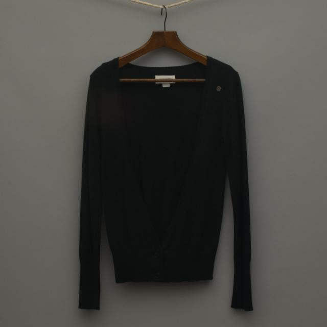 Super Soft Black Knitted Cardigan