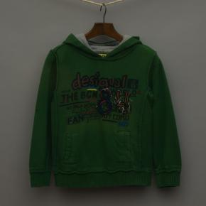 Green Hooded Jumper