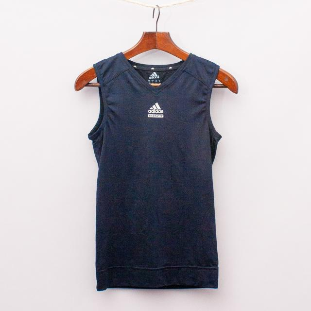Adidas Black Sports Singlet