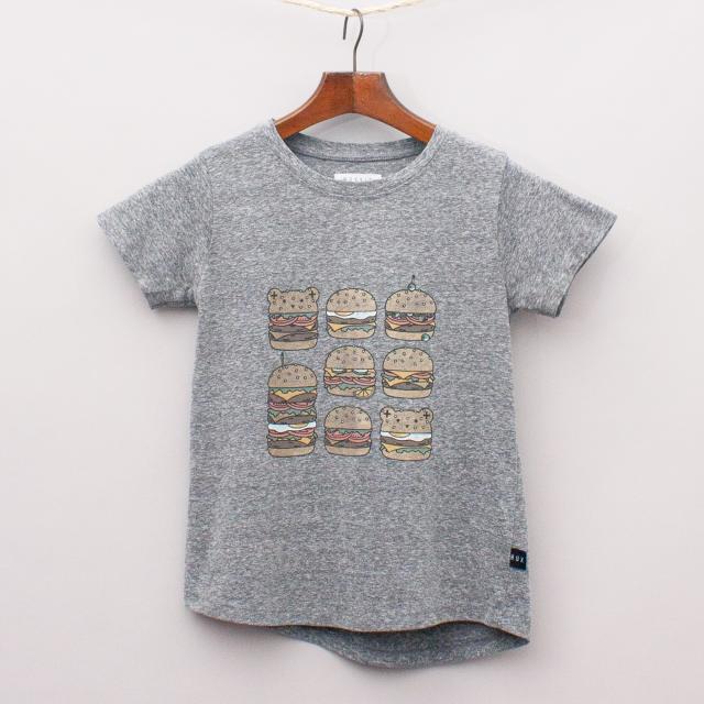 Hux Kid Burger T-Shirt