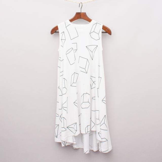 Nununu Geometric Singlet Dress