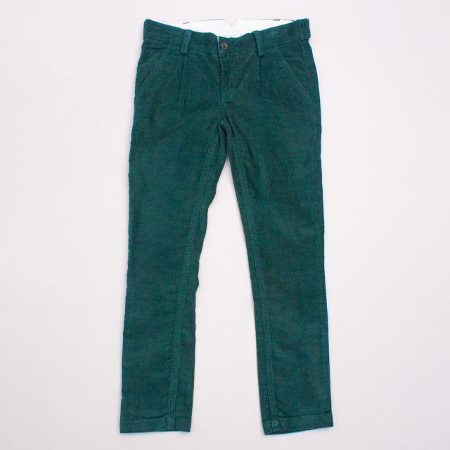 Jacadi Emerald Corduroy Pants